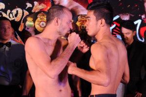 Cermeño, Anurak make weight in China