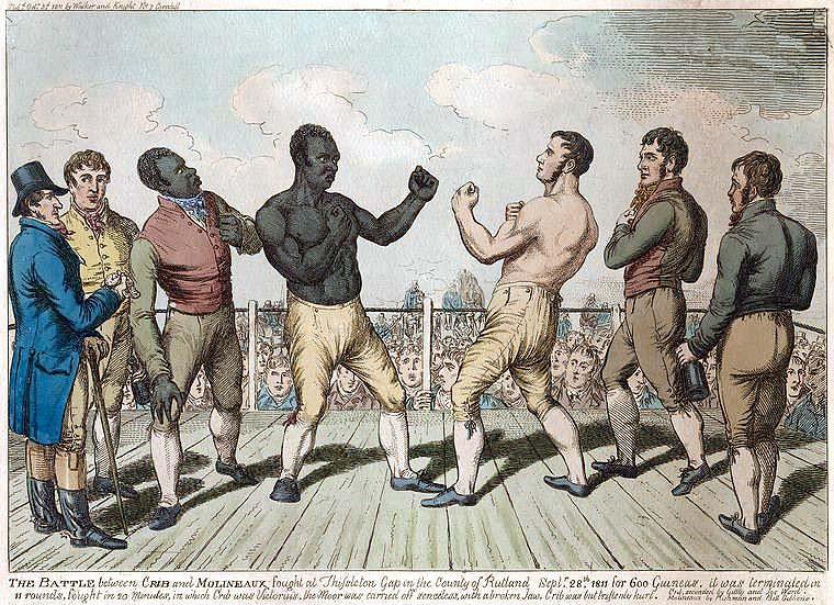 Boxing History: Cribb vs. Molineaux