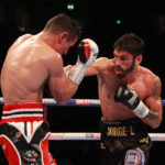 Anthony Crolla vs Jorge Linares. Photo Sumio Yamada