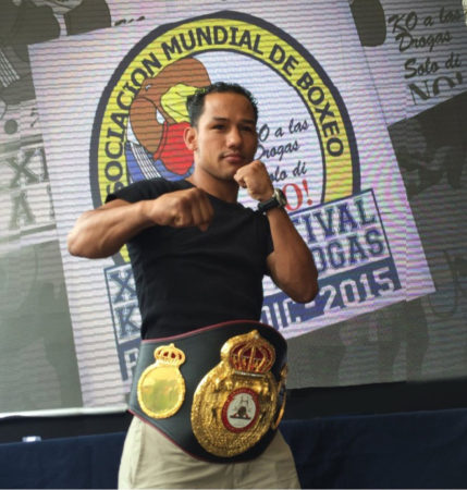 Luis Concepcion - Boxer of the month August-2016