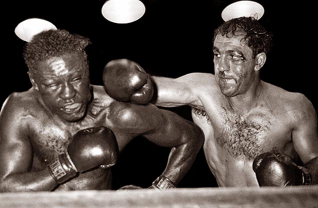 Rocky Marciano was relentless. He was the essence of raw determination.