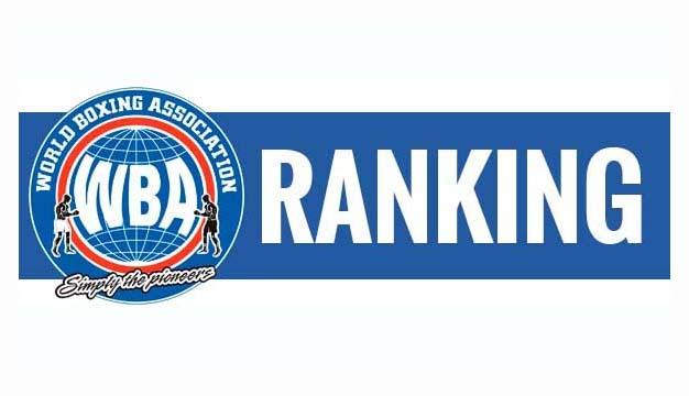 WBA Rankings for August