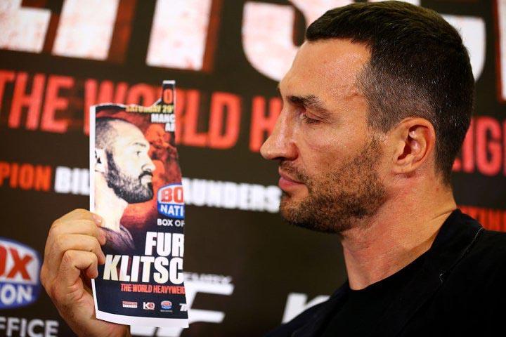 Señor Invisible: Fury-Klitschko Rematch Presser