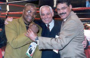 Aaron Pryor, Gilberto Mendoza y Alexis Arguello