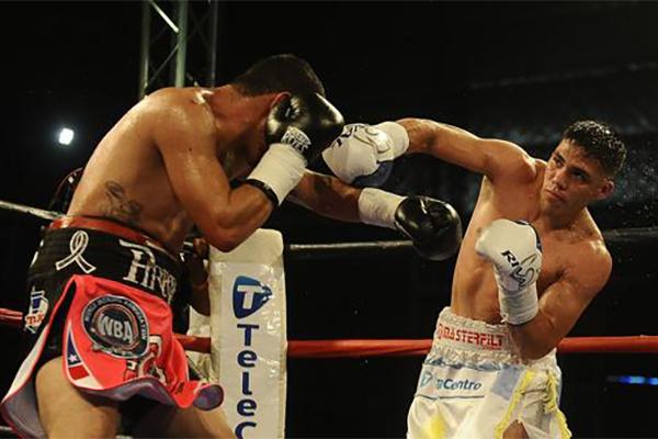 Castaño se impone por KO en Argentina