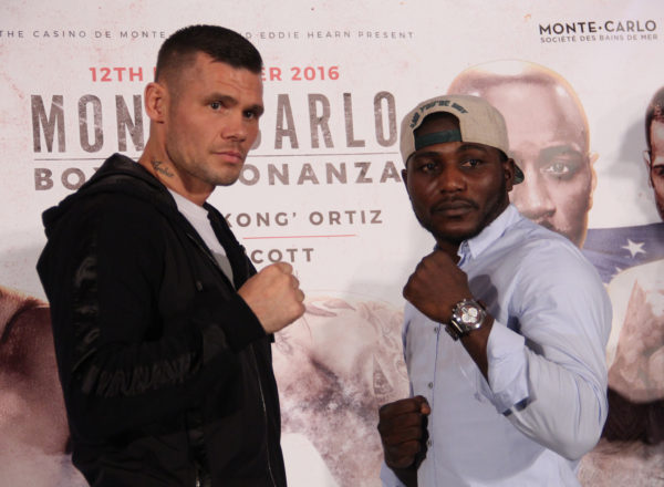 Martin Murray and Nuhu Lawal will face off in Monte Carlo this Saturday. (Photo: Sumio Yamada)