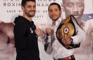 Jason Sosa - Stephen Smith press conference in Monaco - Photos Sumio Yamada