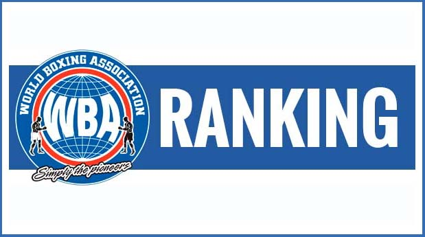 On Tuesday the WBA Ratings Committee released its rankings for all 17 weight divisions.