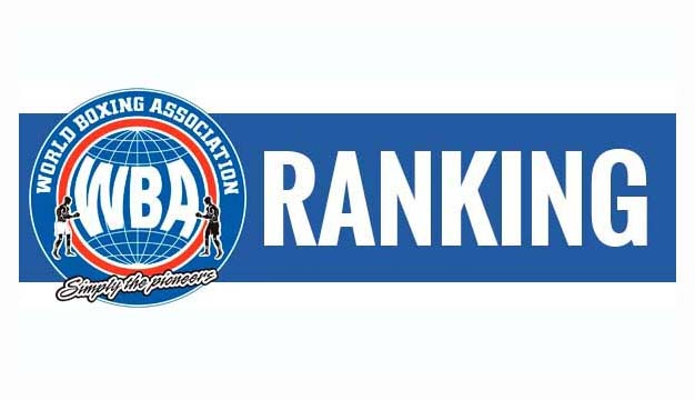 WBA Rankings for September-October 2016