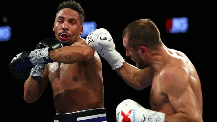 Ward Ekes Out Decision over Kovalev