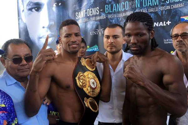 Blanco to Defend Interim WBA Middleweight Title Against N'Jikam