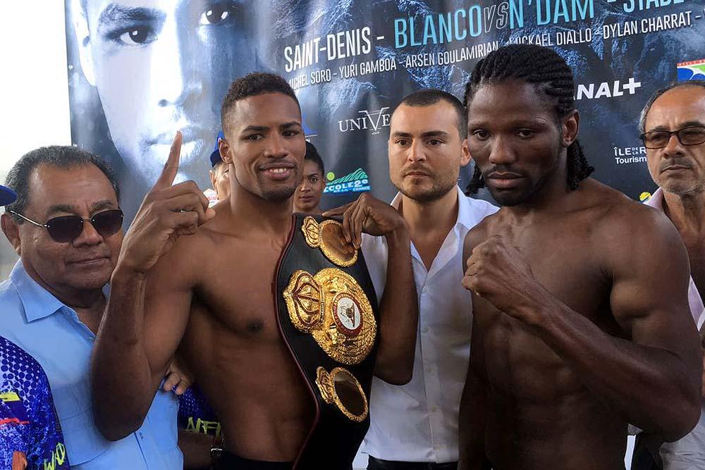 Blanco to Defend Interim WBA Middleweight Title Against N'Jikam