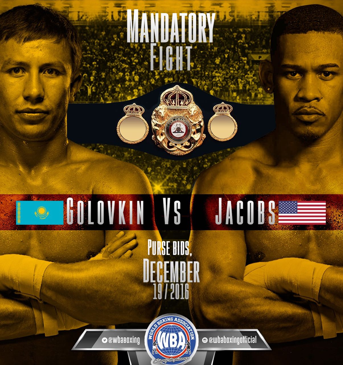 Golovkin - Jacobs Goes To Purse Bid