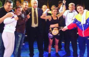 María Milano logra cinturón de las 102 libras AMB