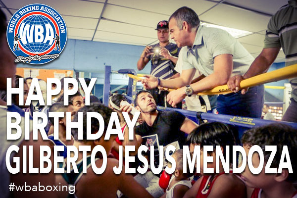 Happy Birthday President, Gilberto Jesús Mendoza
