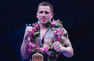Jason Sosa WBA Super Featherweight. Photo Sky Sports