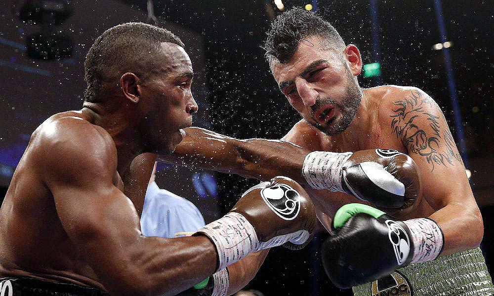 Erislandy Lara defeated Vanes Martirosyan fought this May. (Photo: John Locher/AP)