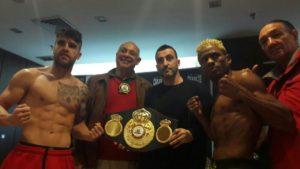 González y Parra listos para pelear por la faja intercontinental AMB