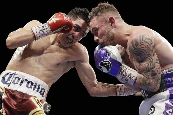 Santa Cruz Outpoints Frampton to Regain WBA Title