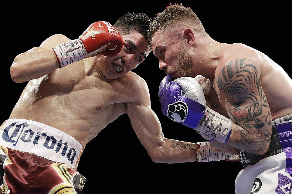 """I fought a great fighter,"" said Santa Cruz, ""and let's make a third fight."" (Photo: AP)"