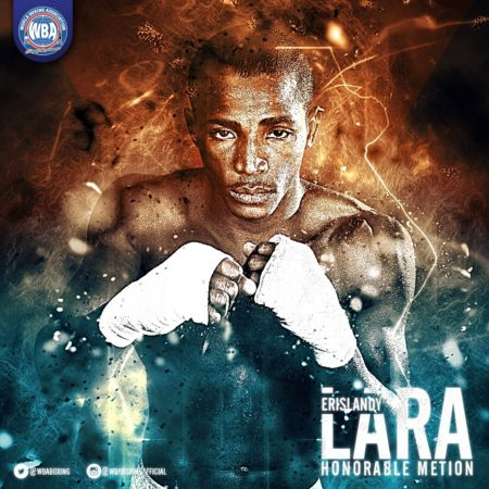 Erislandy Lara - WBA Honorable Mention January-2017