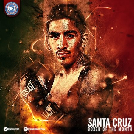 Leo Santa Cruz – Boxer of the month January 2017