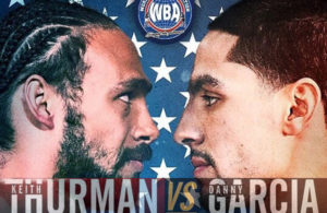 Thurman and Garcia will climb into the ring on Saturday