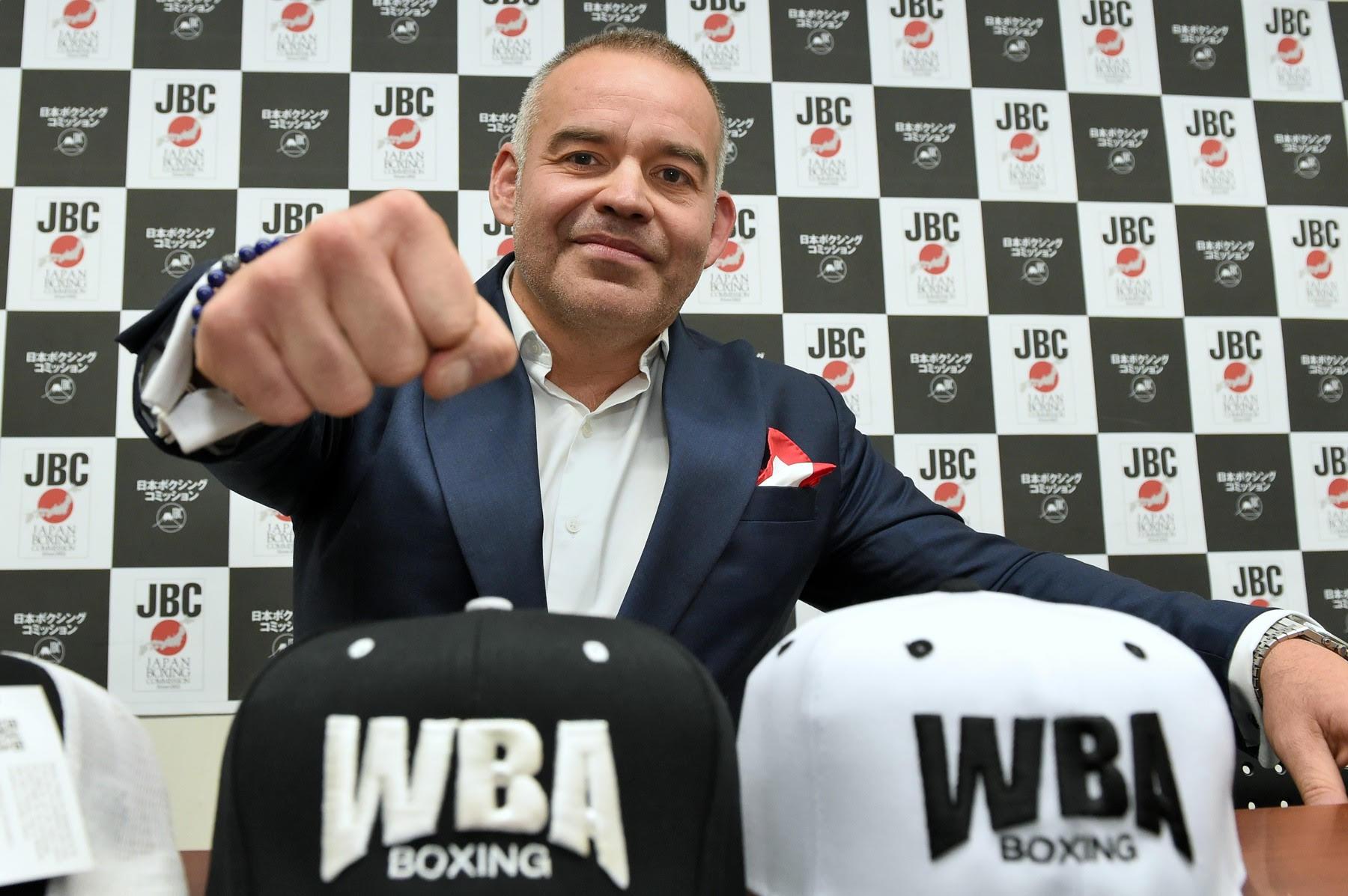 Gilberto Jesus Mendoza presents WBA-Asia