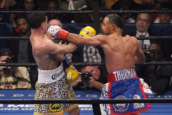 Thurman defeats Garcia in WBA/WBC welterweight title unification