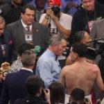 Keith Thurman vs Danny Garcia. Photos Sumio Yamada