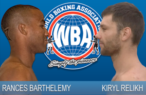WBA orders Relick vs. Barthelemy elimination