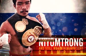 Todavía campeón AMB, Thammanoon Niyomtrong.