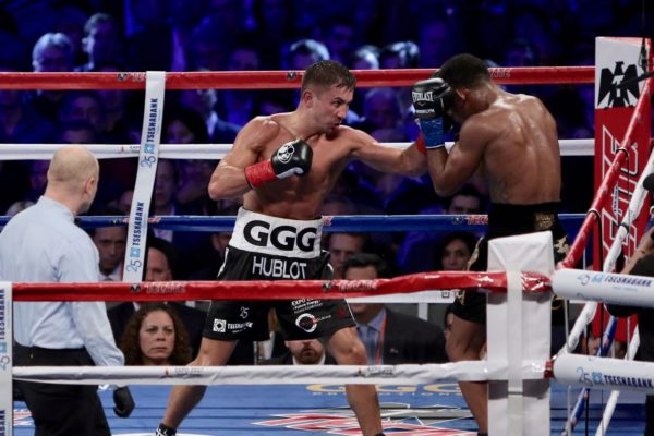 Golovkin retained the WBA Middleweight belt
