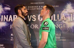 Jorge Linares y Anthony Crolla prometen un gran duelo.