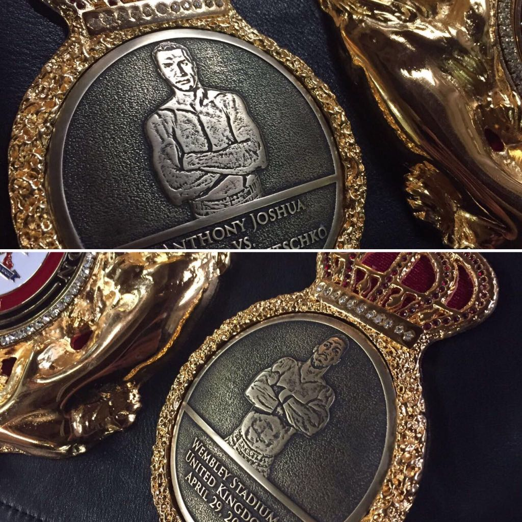 WBA special belt for the Klitschko-Joshua
