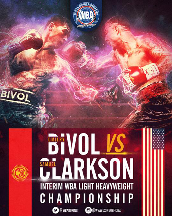 Dmitry Bivol vs Samuel Clarkson