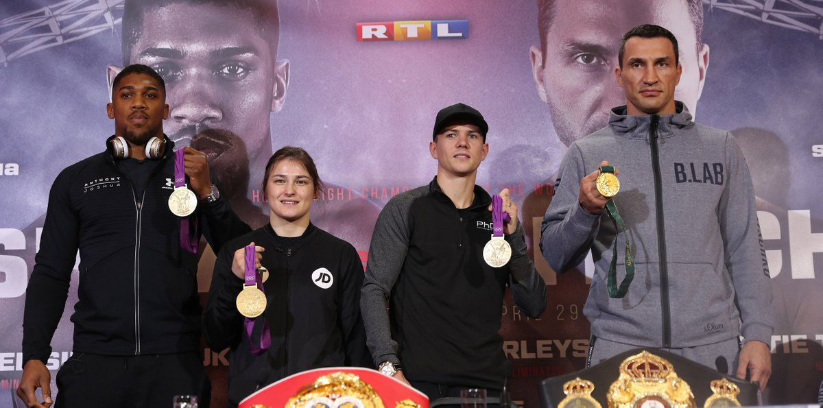 Four Olympic medalists will be in WBA fights this Saturday