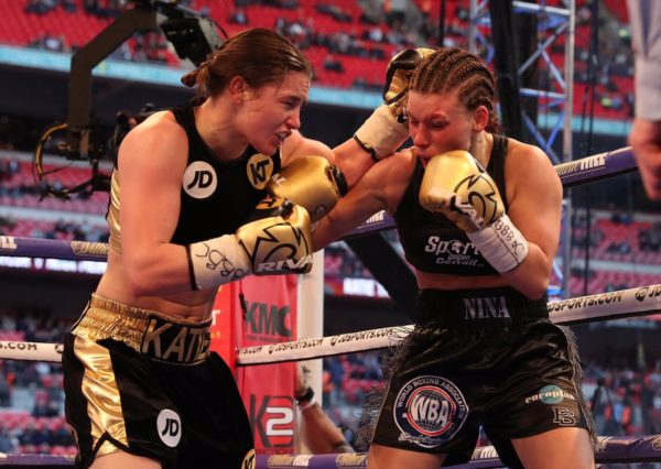 Taylor new WBA-International Female Lightweight Monarch