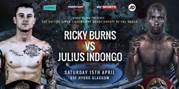 Burns Vs Idongo WBA Super Lightweight Championship.