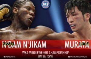 Murata vs. N'Dam on May 20