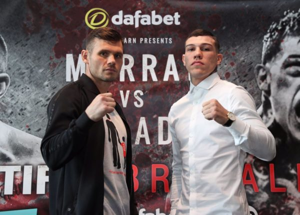 Murray and Rosado ready for the battle