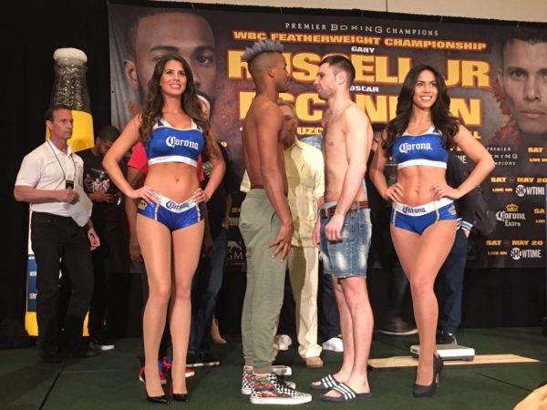 Bathelemy and Relikh made the weight