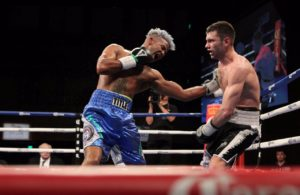 Barthelemy gana combate eliminatorio AMB. Foto Showtime