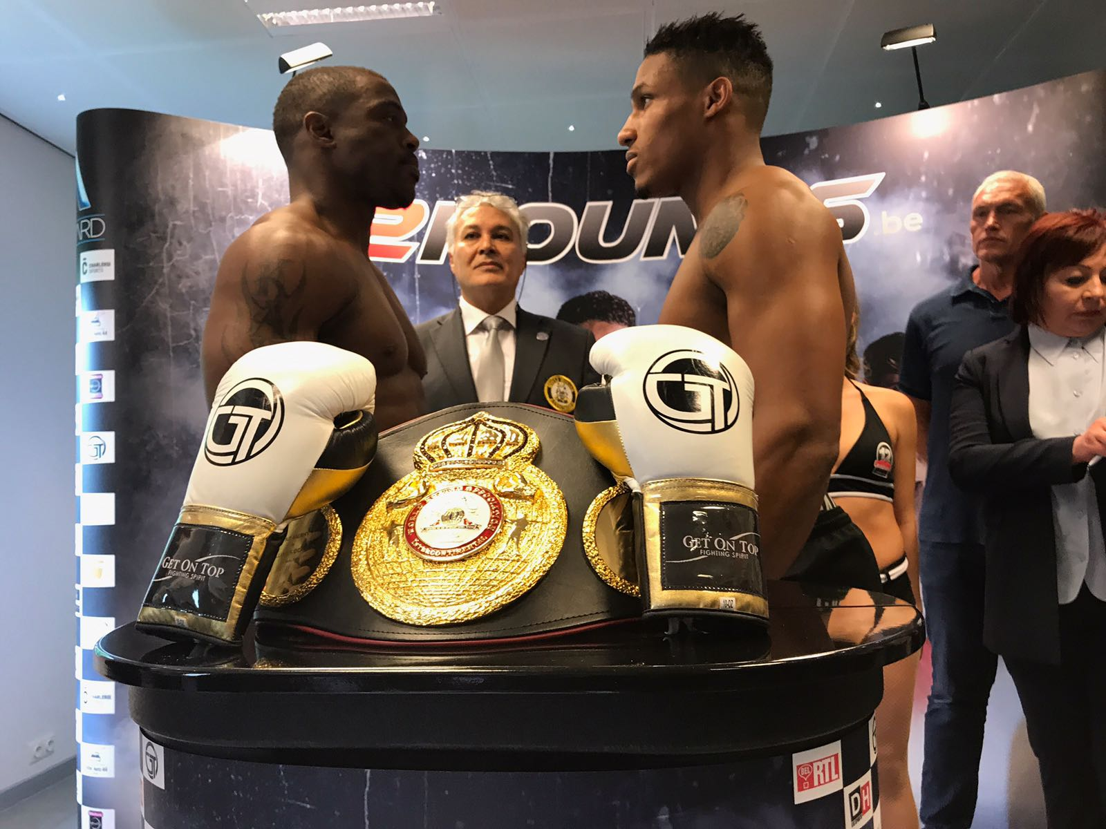 Merhy and William for WBA-Intercontinental title