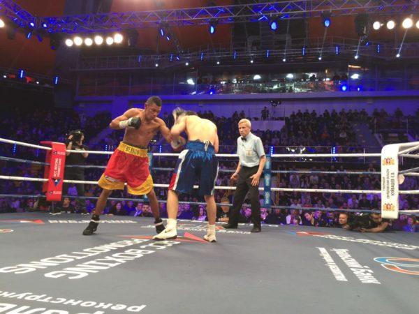Gradovych, WBA-Intercontinental Super Bantamweight champion