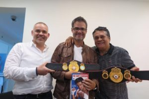 Luis Chataing spent a different afternoon with the WBA
