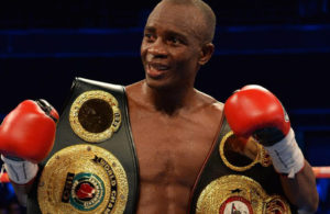 Julius Indongo WBA Super Lightweight Champion