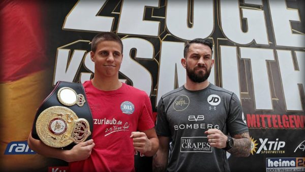 Zeuge and Smith ready in weight