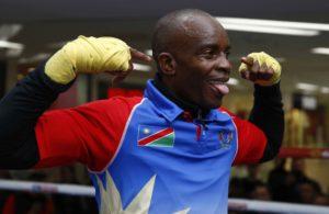 Julius Indongo en la élite del boxeo.