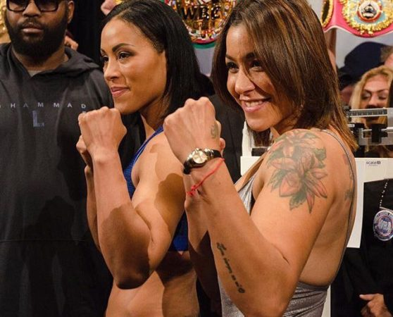 Braekhus and Farias make weight